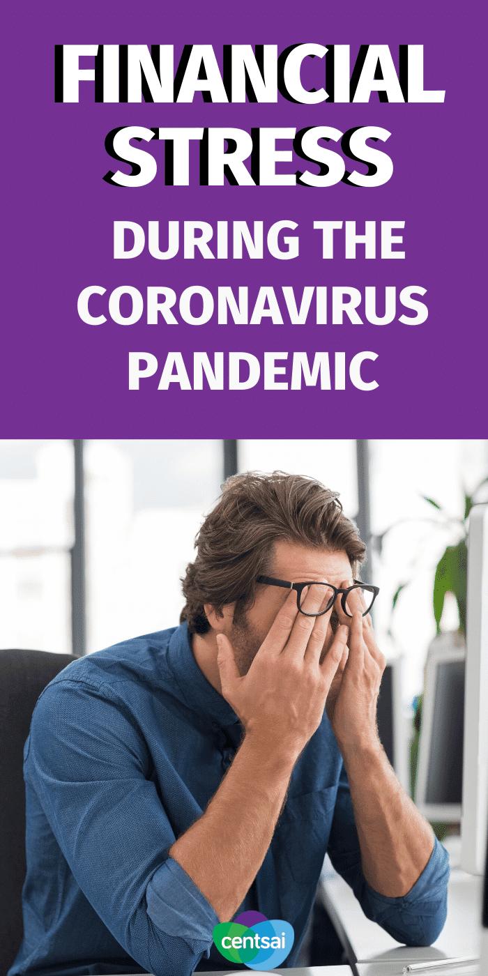 ¿Siente estrés financiero durante el coronavirus? Sepa que no está solo y lo que puede hacer para controlar la ansiedad relacionada con el dinero. #CentSai #Dificultades financieras