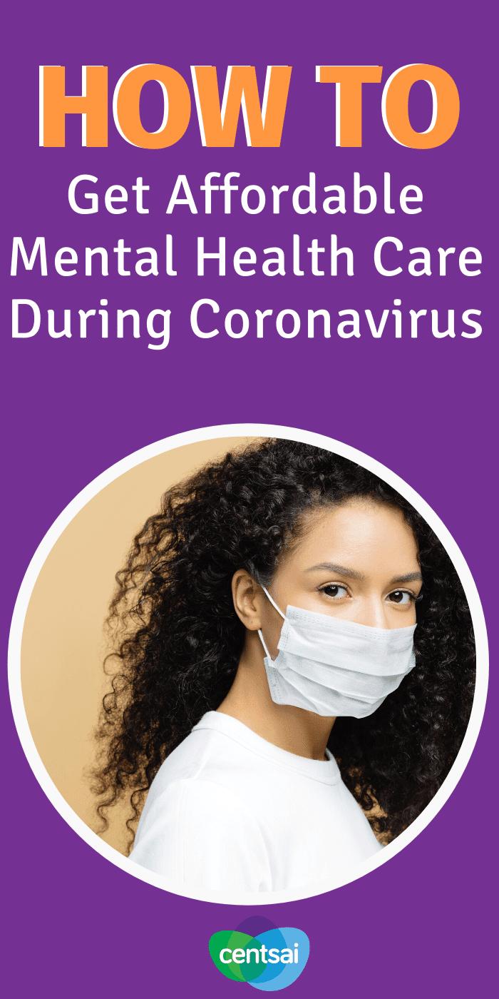 Cómo obtener atención de salud mental asequible durante el coronavirus