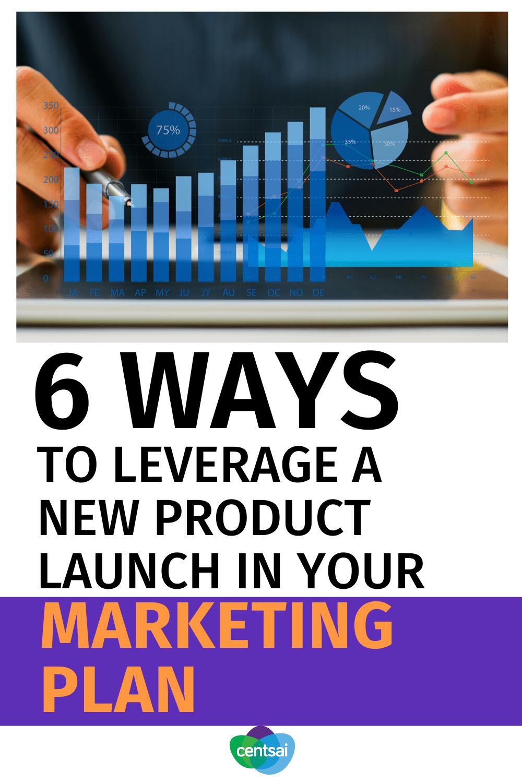 6 formas de aprovechar el lanzamiento de un nuevo producto en su plan de marketing
