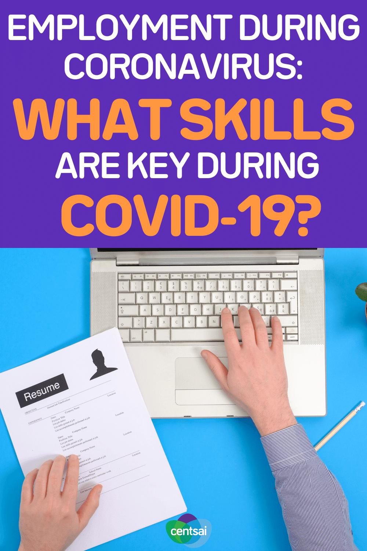 Employment During Coronavirus What Skills Are Key During COVID-19