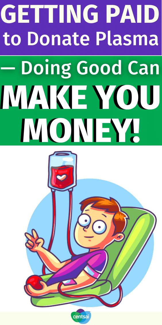 Recibir un pago por donar plasma: ¡hacer el bien puede generar ingresos!