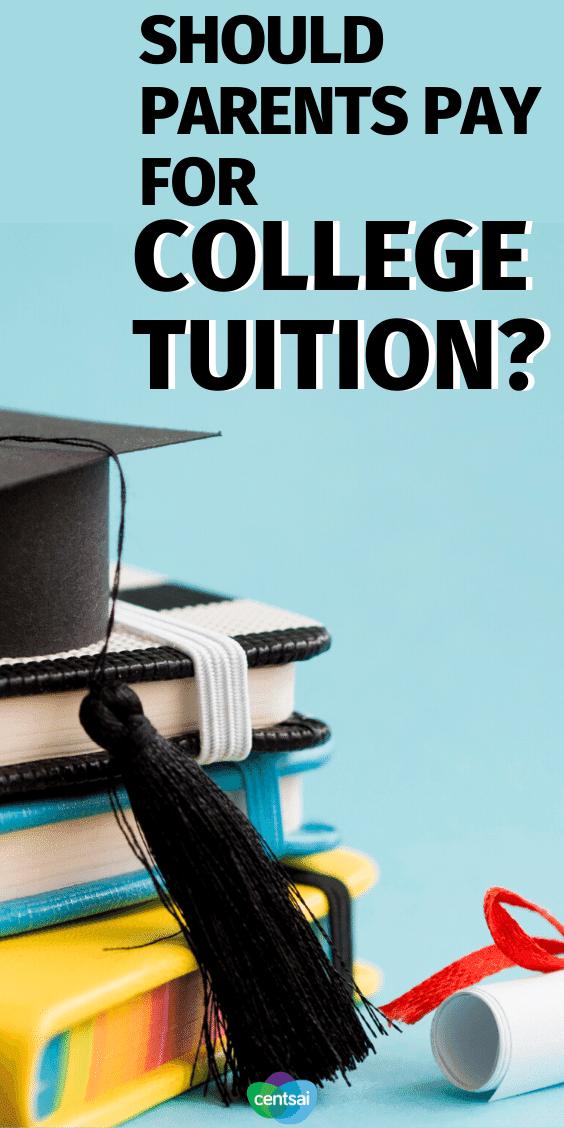 ¿Deberían los padres pagar la matrícula universitaria?