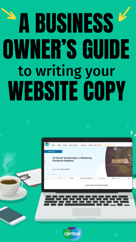 Writing copy for your website can be a frustrating and overwhelming task when you're not used to writing marketing copy in general. Does your ideal client know you're talking to them? Ensure they do by writing the perfect copy for your website. Here are five sections on your website that you can improve by listening carefully to everything your prospects and clients say. #CentSai #entrepreneurship #entrepreneursuccess #smallbusinessideas #technology