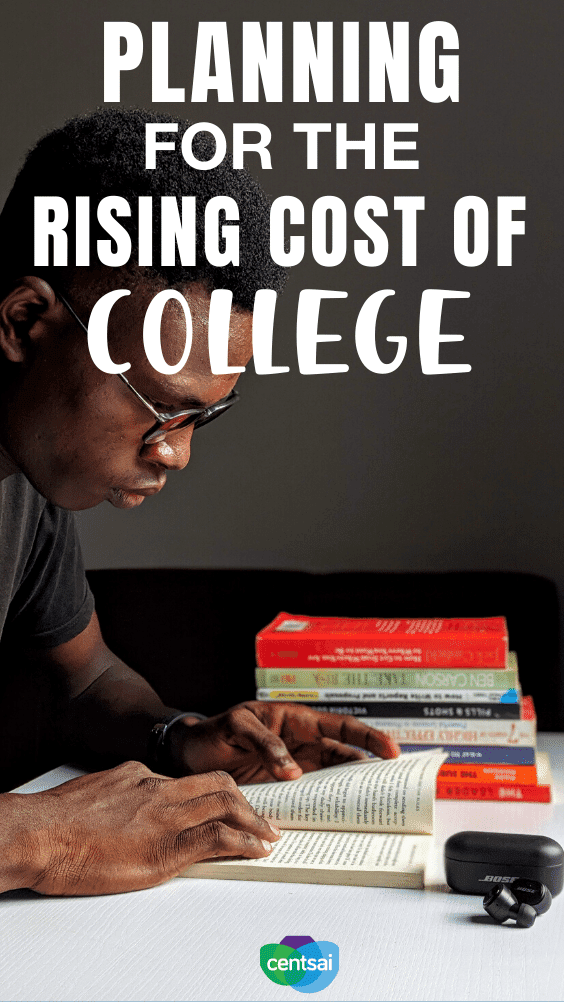 Planning for the Rising Cost of College. Many parents are struggling to pay their own student debt and can't see how to help their child with the rising cost of college. Here's how! #CentSai #studentdebt #studentloandebt #studentloandebts #college