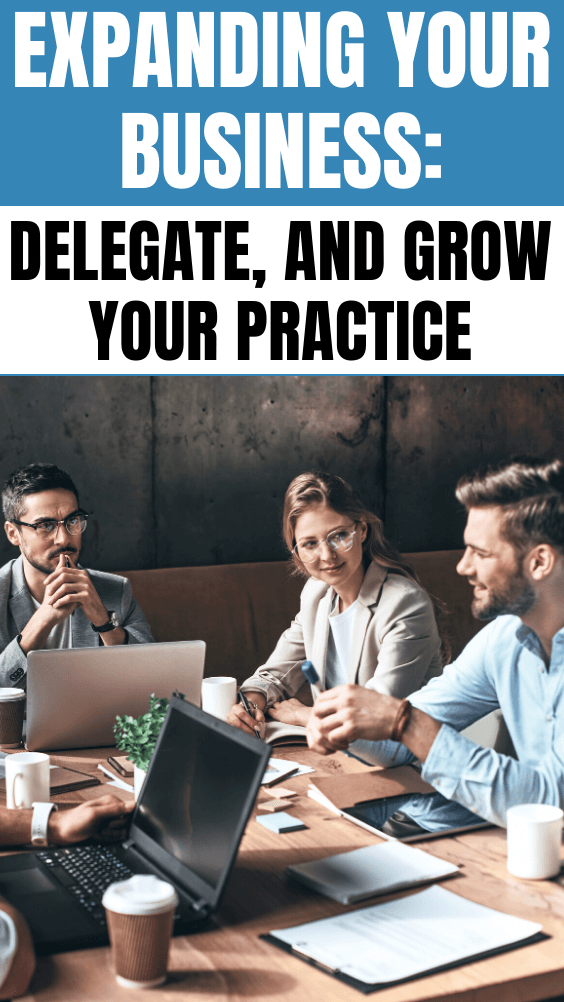 Expanding Your Business: Delegate, and Grow Your Practice. Small business owners are often hesitant to hand off operations to another individual — but delegating tasks is key to expanding. #CentSai #entrepreneurshipstartups #entrepreneurshipideas #businessideas