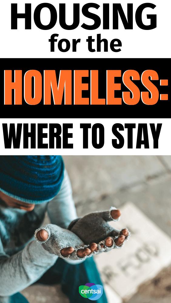 Vivienda para personas sin hogar: dónde alojarse. Hay una serie de alternativas a las que pueden recurrir las familias con inseguridad en la vivienda cuando buscan un lugar para quedarse mientras están sin hogar. #CentSai # dificultades financieras #finanzas personales # personas sin hogar