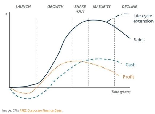 Este mapa de viaje del cliente muestra los pasos que sigue para averiguar cómo pasar de la etapa de lanzamiento a la etapa de crecimiento.