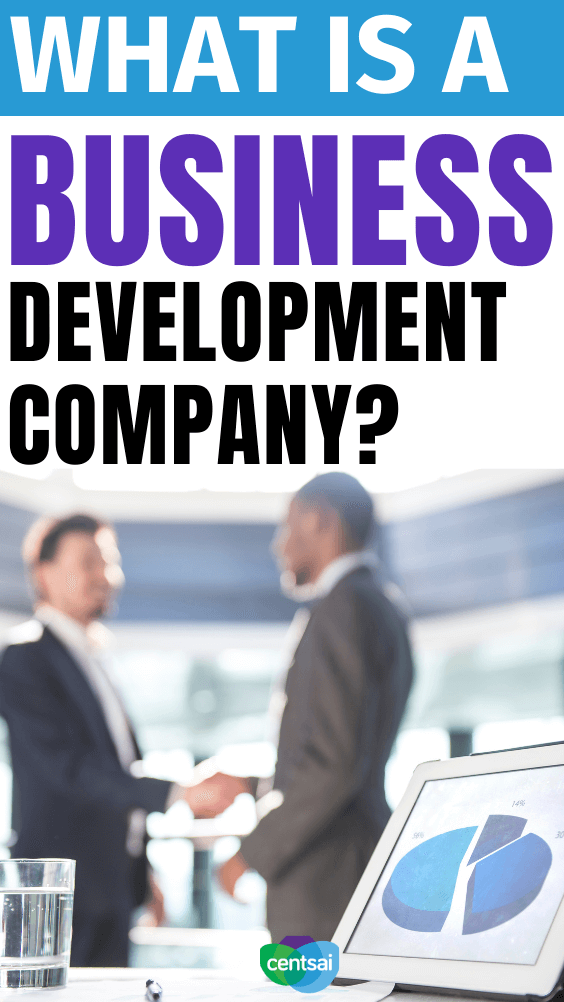 What Is a Business Development Company? Some people say that a business development company is an essential part of an investment portfolio. But what is it, and is it a good choice? #CentSai #businessdevelopment #businessdevelopmentstrategy #businessdevelopmentideas