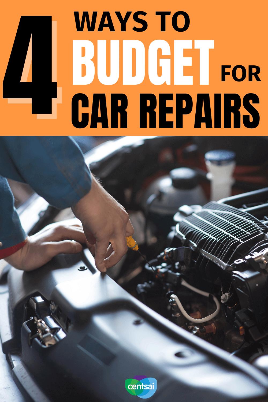 4 formas de presupuestar las reparaciones de automóviles. Si bien averiguar cómo presupuestar el mantenimiento del automóvil puede ser confuso, no es imposible. Mire este video para saber cuánto Guardar. #CentSai #carrepair #costofliving #frugaltips