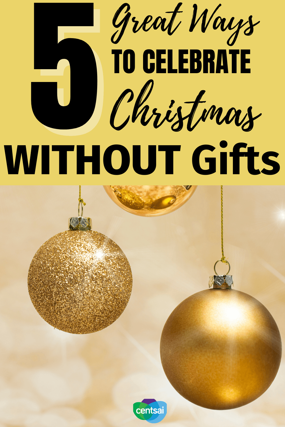 Do you know that you can have a perfect Christmas without spending money for gifts? Check out these 5 frugal hacks and ideas what we plan to do to spread holiday cheer, even though we plan to celebrate Christmas without gifts. #CentSai #frugalfun #frugalideas #Beingfrugal #holiday