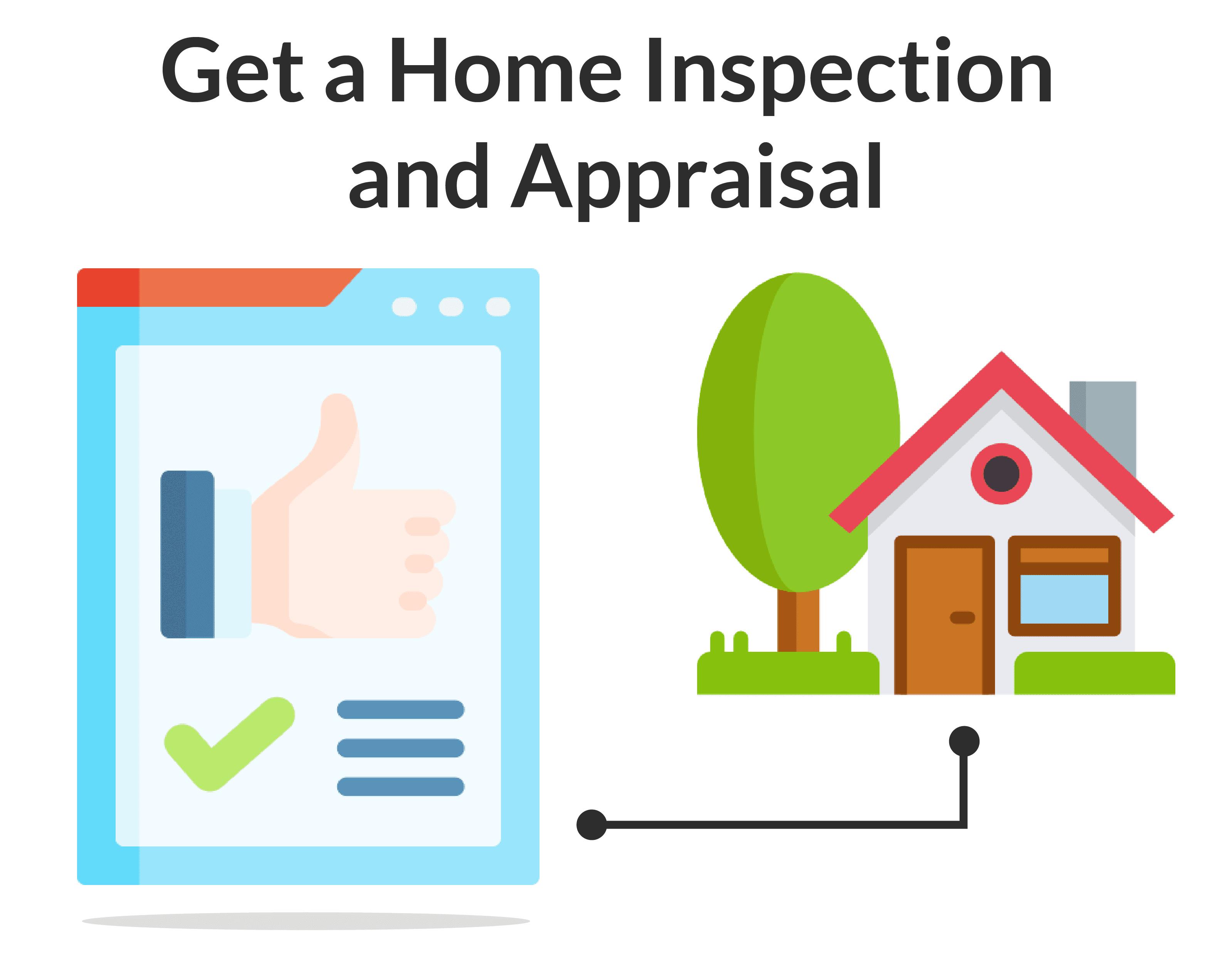 inspección y tasación de la vivienda